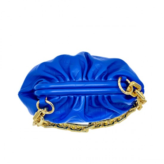Сумка Sara Burglar Dea 1236 blu oro