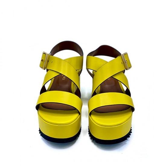 Босоножки Evaluna 1307 giallo